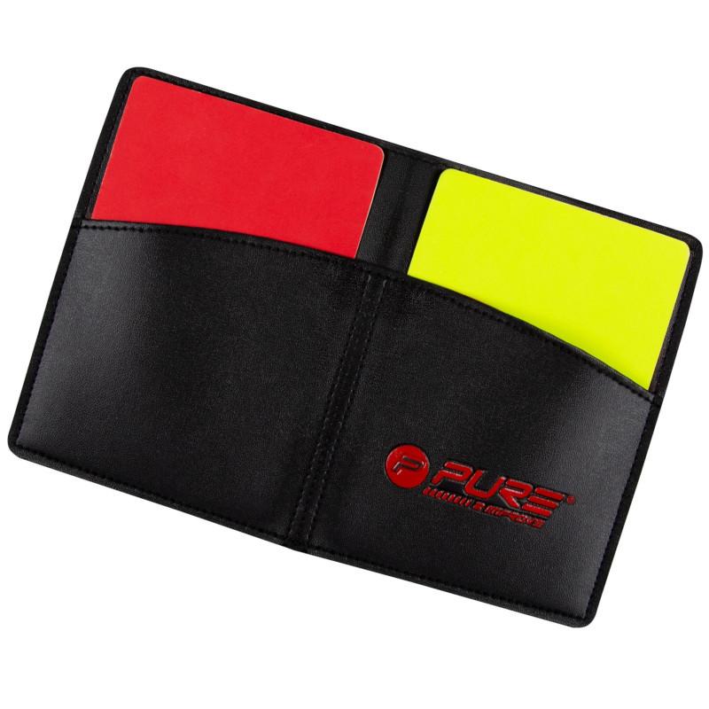 Schiedsrichter Karten Set Rote/Gelbe Karten