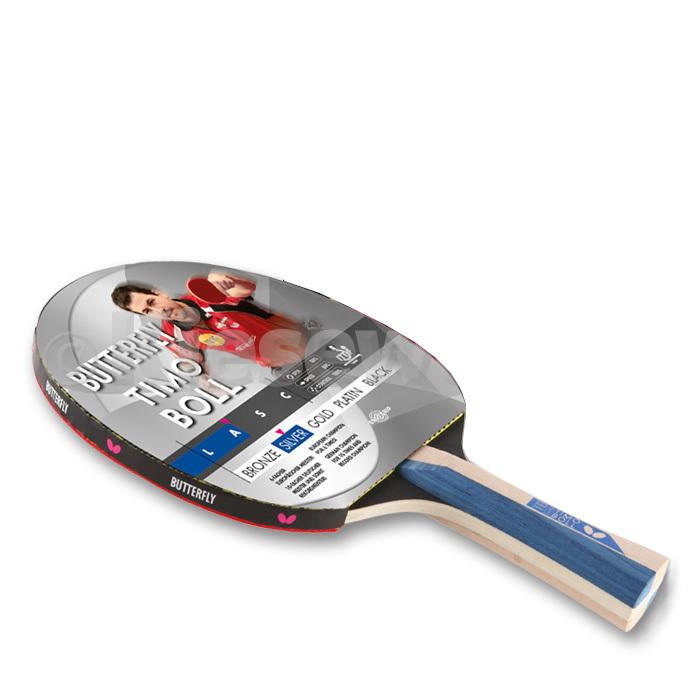 Tischtennisschläger Butterfly Timo Boll silver