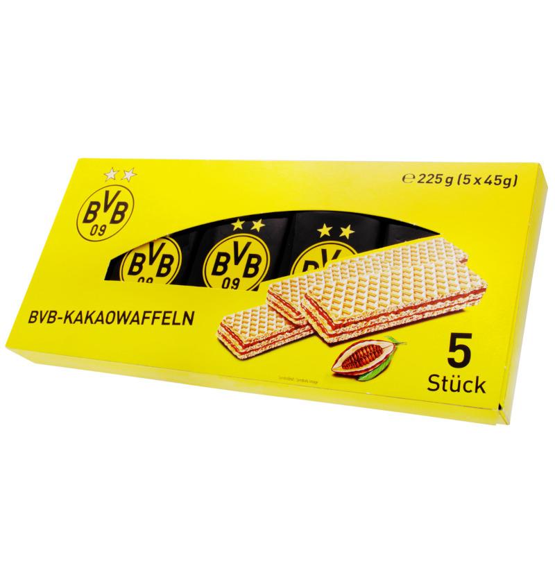 Borussia Dortmund Waffeln mit Schokoladencreme 225g (5x45g)
