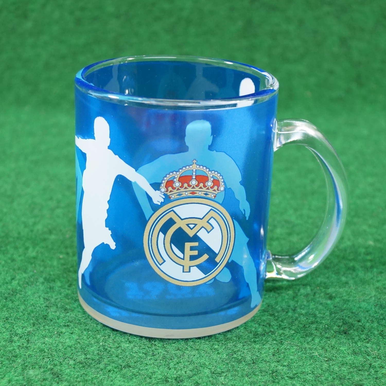 Real Madrid Glastasse blau
