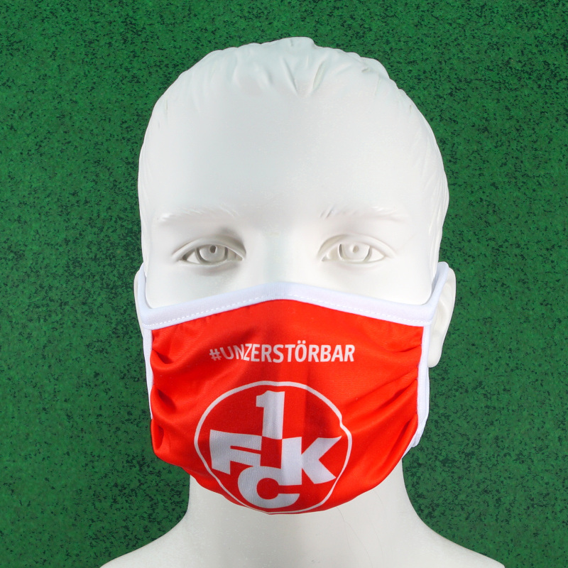 """1. FC Kaiserslautern Mundschutz """"unzerstörbar"""""""