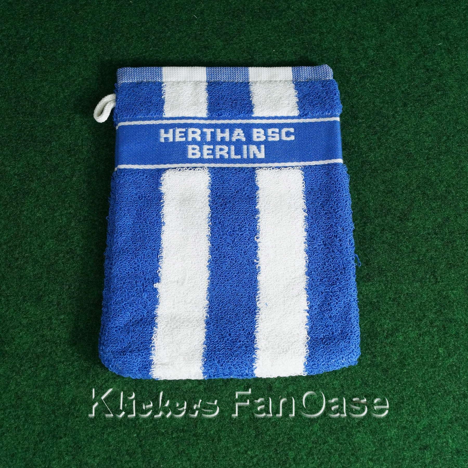 Hertha BSC Berlin Waschhandschuh blau-weiss