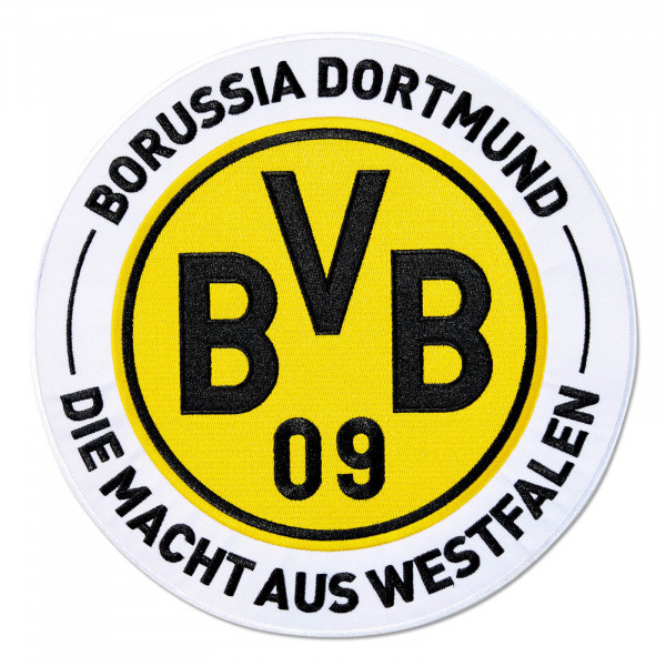 BVB Aufnäher Großes Logo Rückenaufnäher