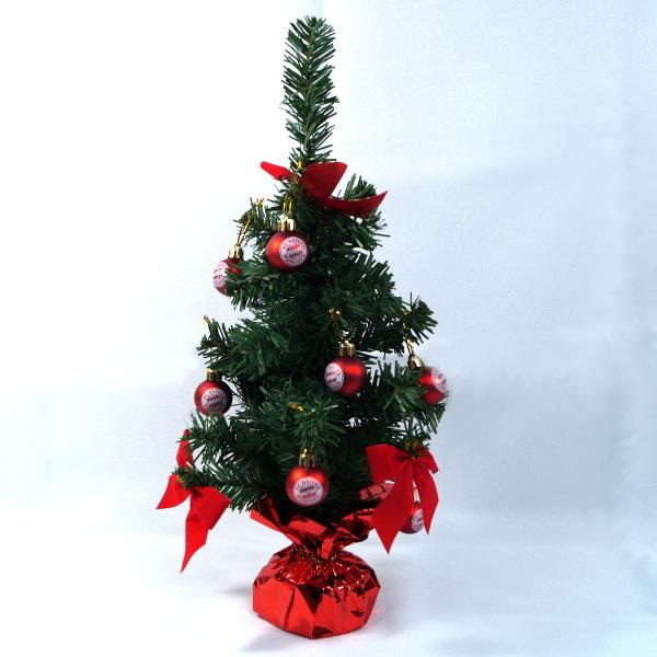 Bayern München Weihnachtsbaum 45cm