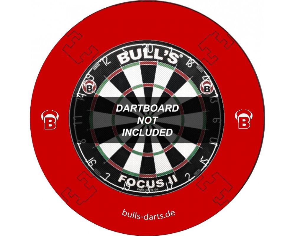Bull's Quarterback Surround Wandschutz rot
