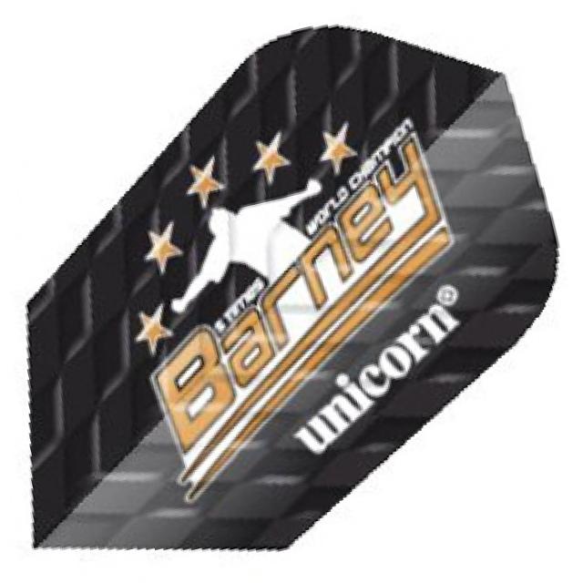 Unicorn Barneveld Flights Black Q Metallic - Slim