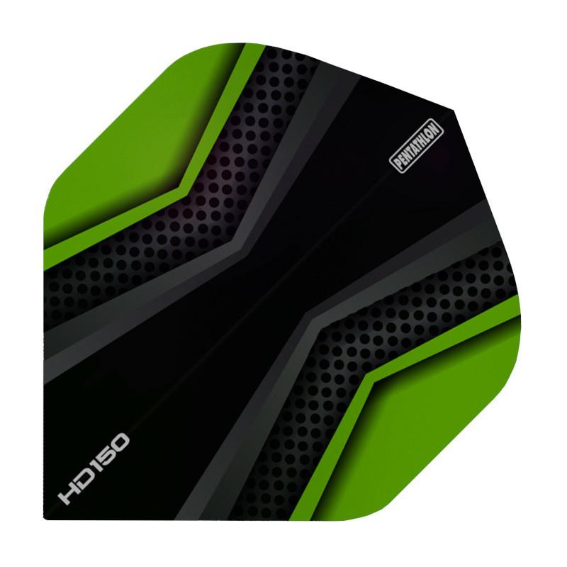 Pentathlon Flights HD150 X schwarz-grün Standard