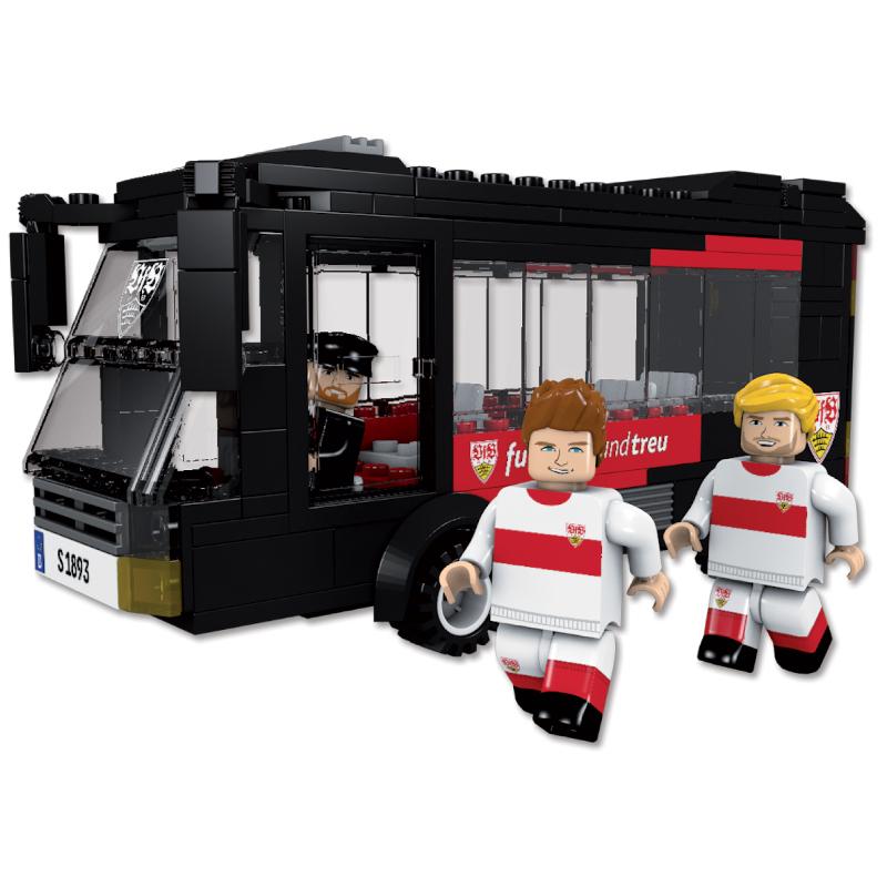 VfB Stuttgart Mannschaftsbus Bausatz