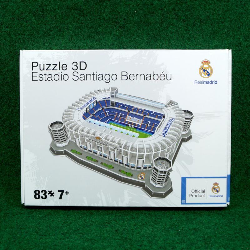 Real Madrid 3D Puzzle - Santiago Bernabeu 83 Teile