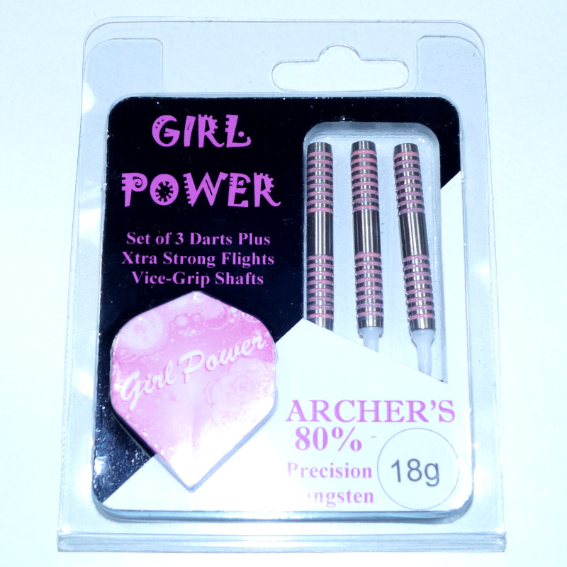 Hi Tec Archer's Girl power Softdarts-Set rosa 03 18g