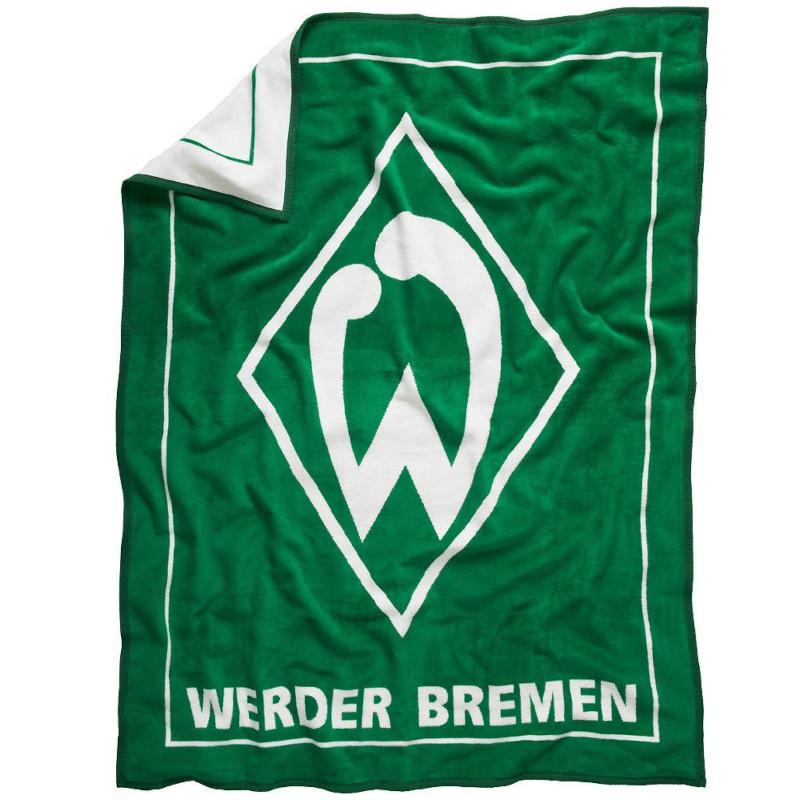 Werder Bremen Veloursdecke 150x200cm