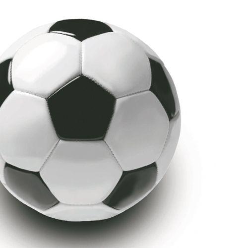 Servietten mit Motiv Fussball