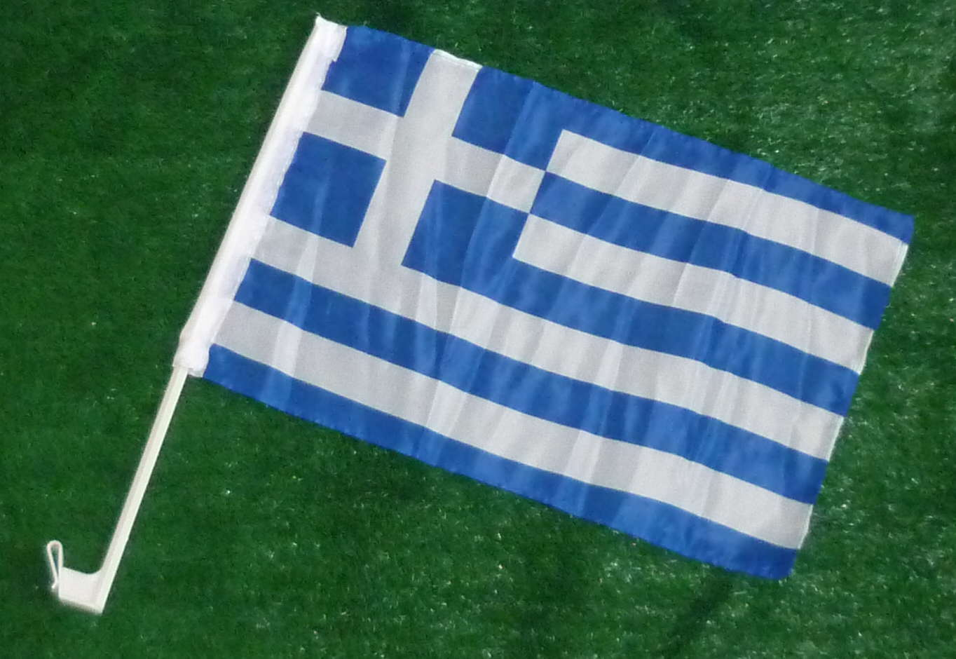 Griechenland Autofahne