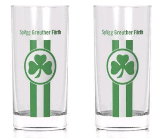 SpVgg Greuther Fürth Trinkglas 2er Set