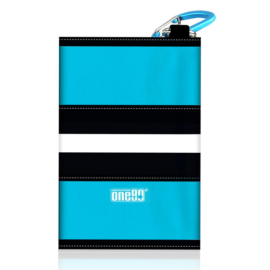 One80 Dart Canvas wallet blau/schwarz/weiß