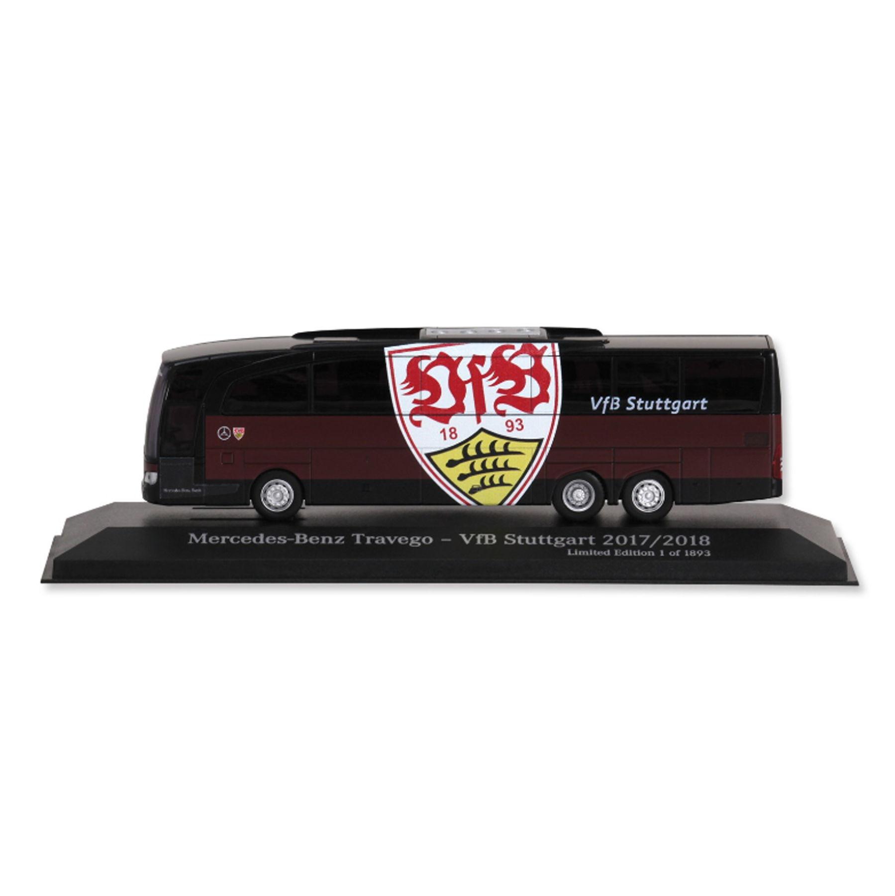 VfB Stuttgart Mannschaftsbus 17/18