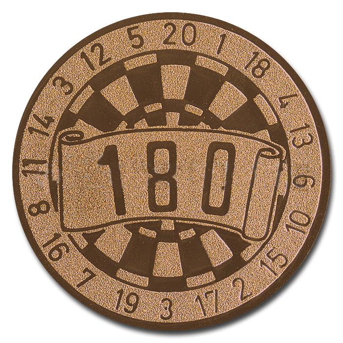 Emblem 180 bronze für Medaillen-Träger