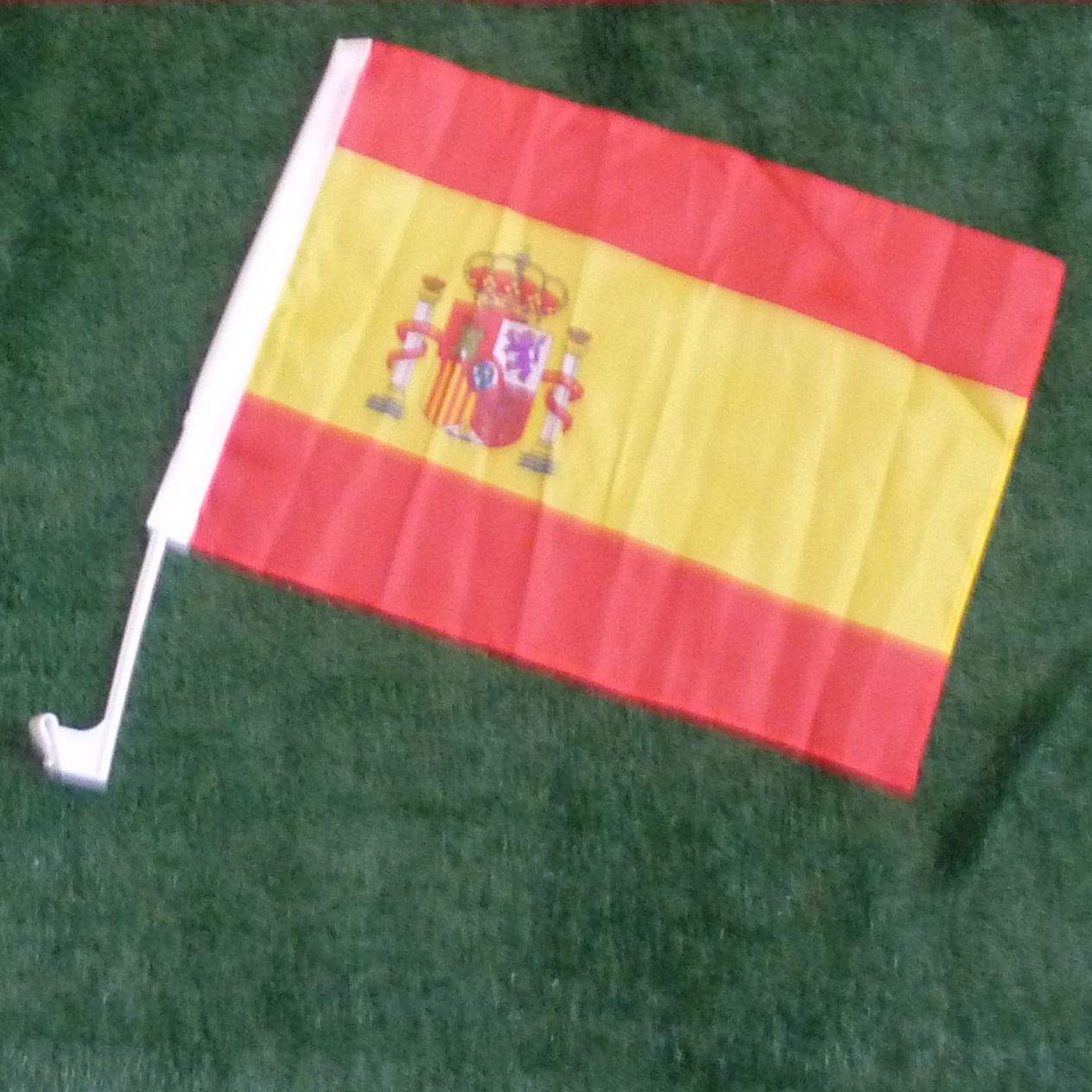 Spanien Autofahne