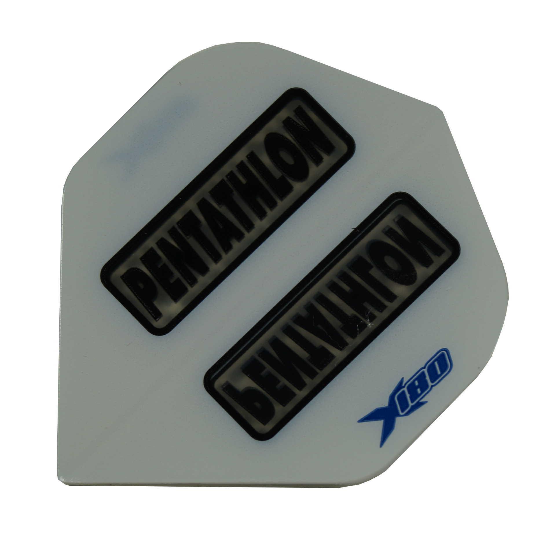 Pentathlon Flights X180 weiss-transp. Standard
