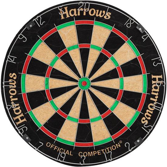 Harrows Bristle Dart-Board Competition