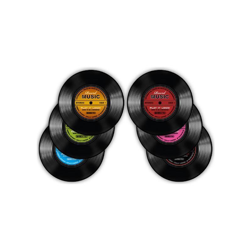 Untersetzer - Record Music - Set