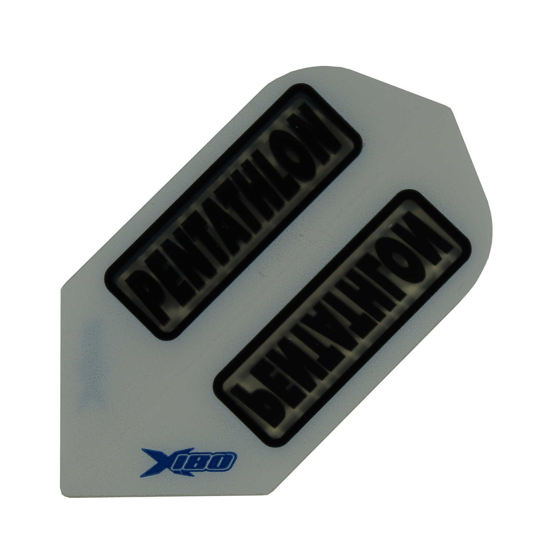 Pentathlon Flights X180 weiss-transp. Slim