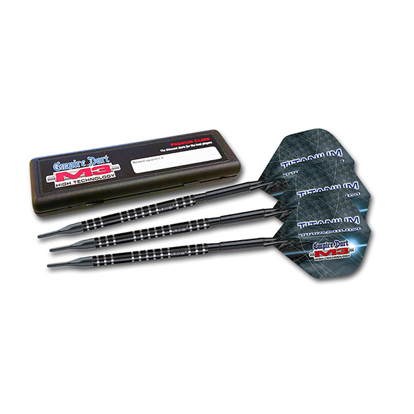M3 Titanium Softdarts-Set 18g schwarz