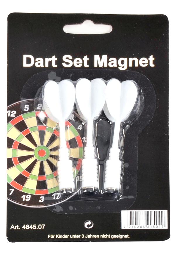 Dart Set Magnet-Pfeile weiss