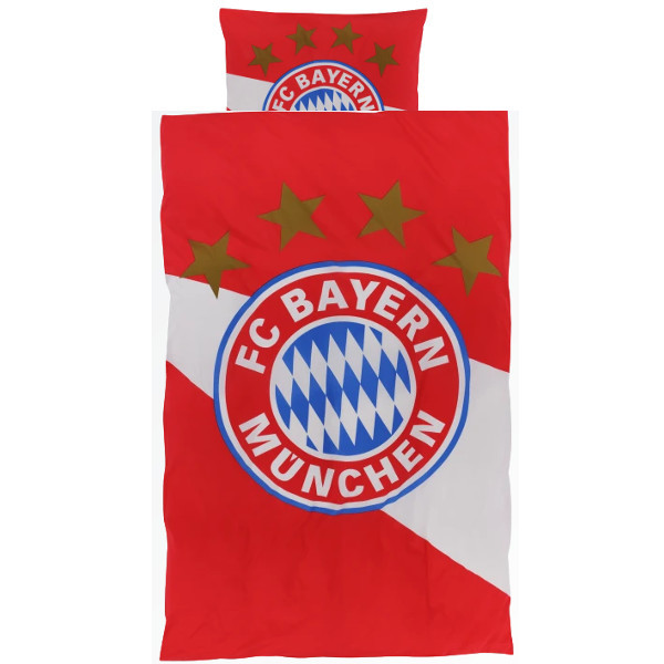 FC Bayern München Bettwäsche rot-weiss