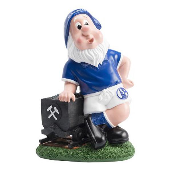 FC Schalke 04 Gartenzwerg Blumentopf Lore