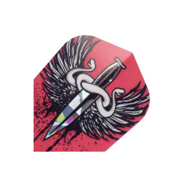 Harrows Dartflight Hologramm Sword