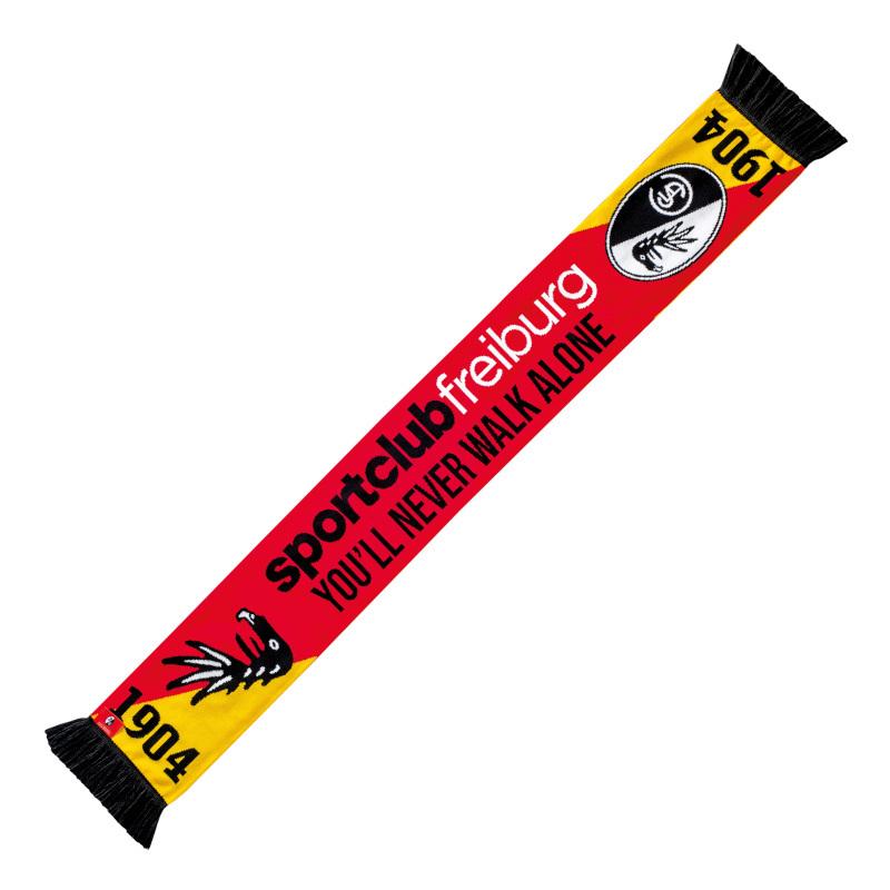 SC Freiburg Schal Südbaden rot-gelb
