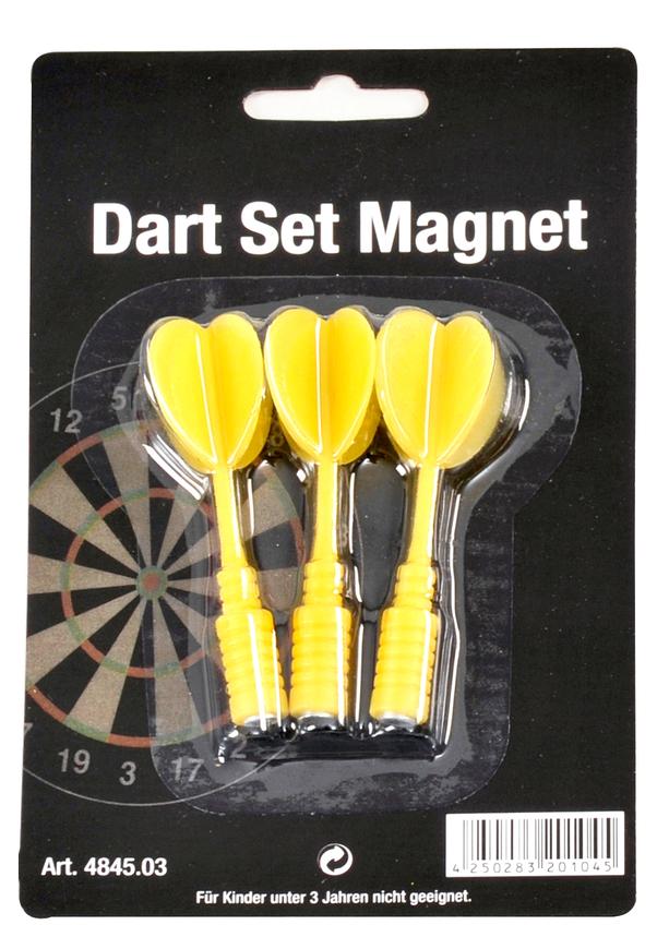 Dart Set Magnet-Pfeile gelb