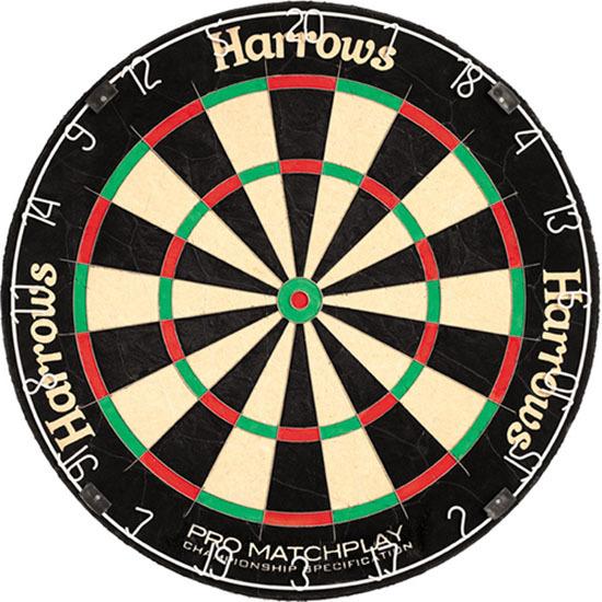 Harrows Bristle Dart-Board Pro Matchplay