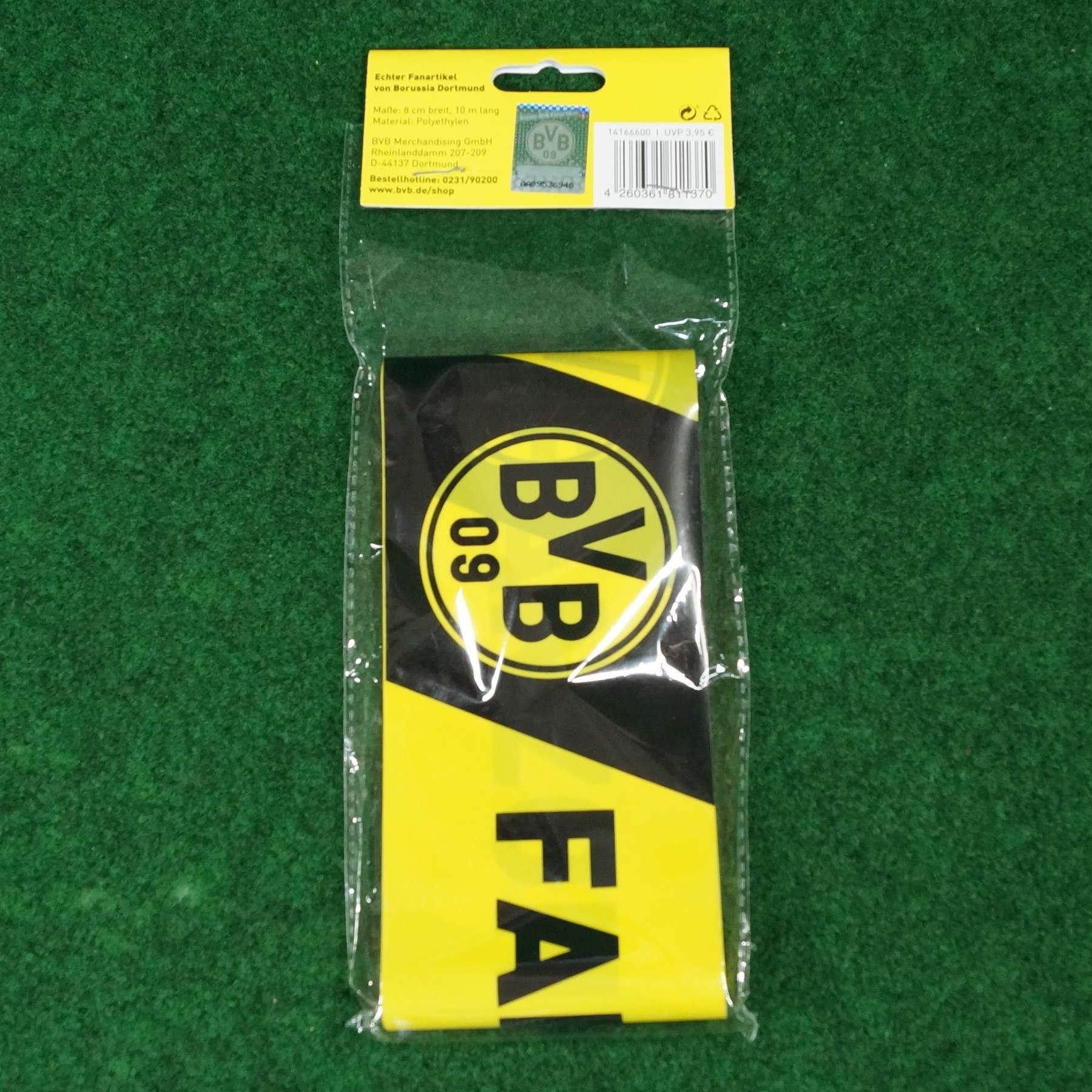 Borussia Dortmund Absperrband Fanzone