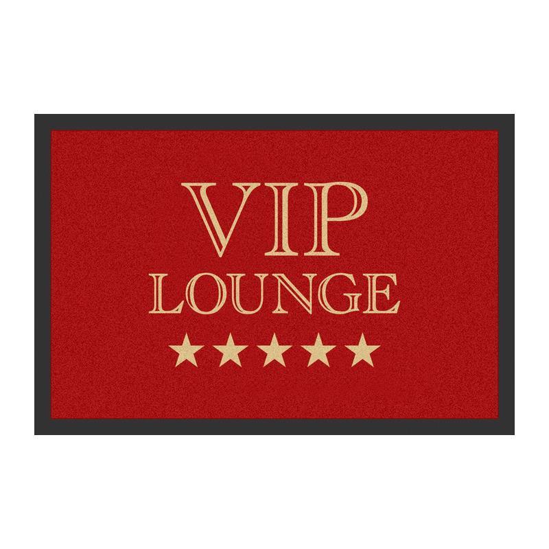Fussmatte VIP Lounge rot