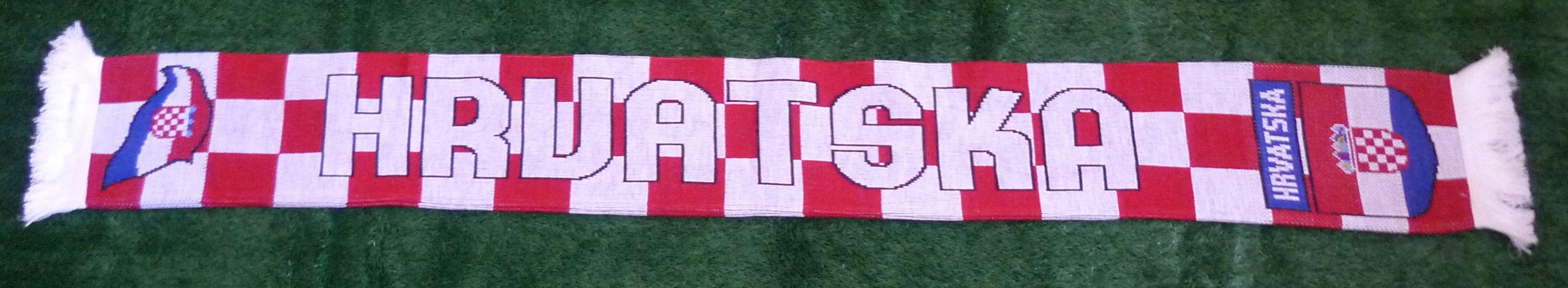 Kroatien Fan-Schal