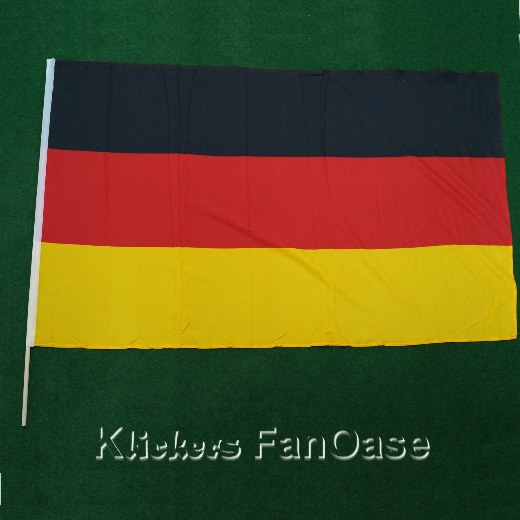 Deutschland Stockfahne 90 x 150 cm