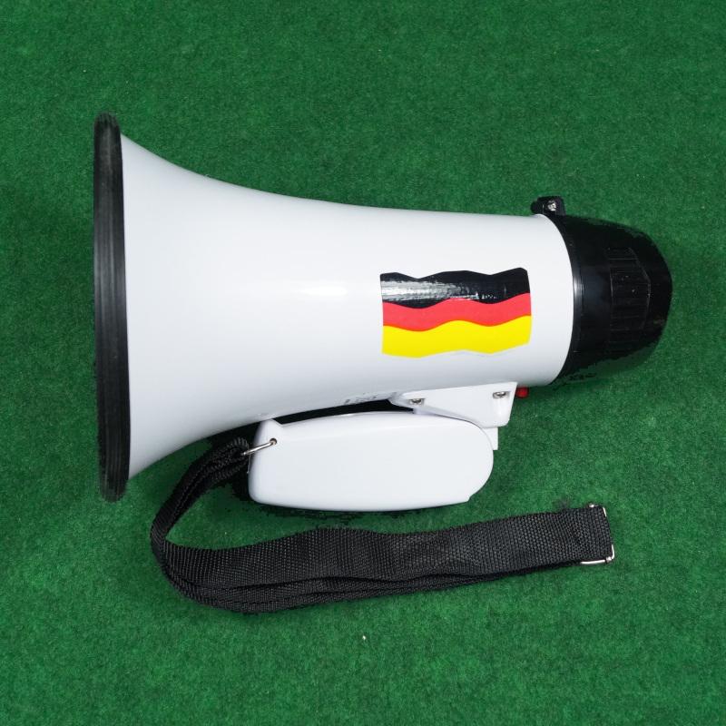 Deutschland Megafon und Sirene