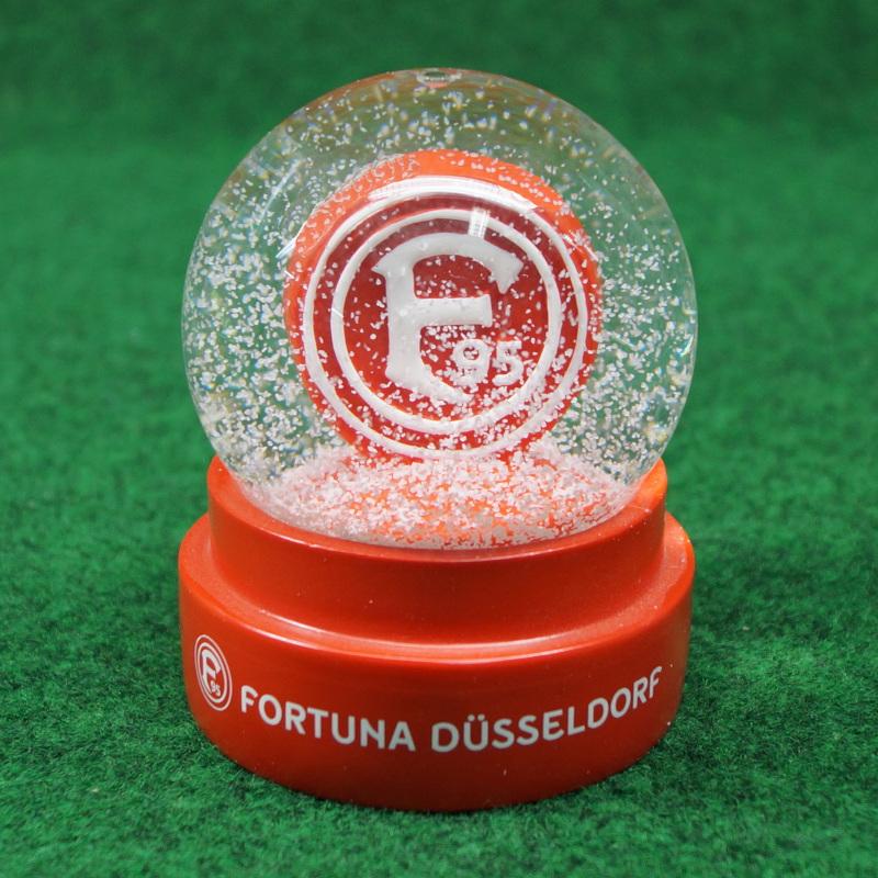 Fortuna Düsseldorf Schneekugel Logo